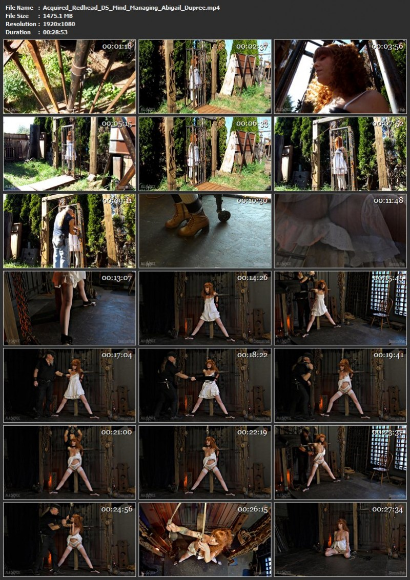 Acquired Redhead DS Mind Managing - Abigail Dupree. May 12 2019. Sensualpain.com (1475 Mb)