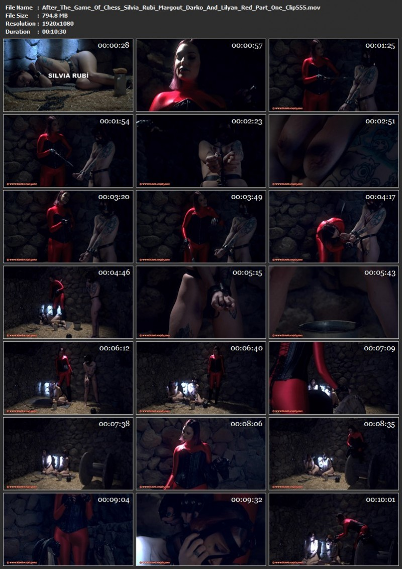 After The Game Of Chess - Silvia Rubi, Margout Darko And Lilyan Red Part One (Clip 555). Jun 07 2019. Bloodangels.com (794 Mb)