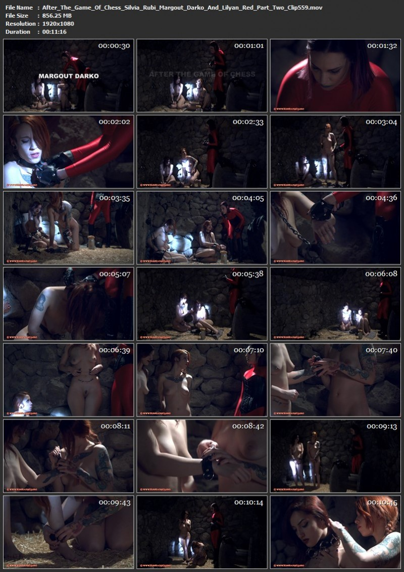 After The Game Of Chess - Silvia Rubi, Margout Darko And Lilyan Red Part Two (Clip 559). Jul 12 2019. Bloodangels.com (856 Mb)