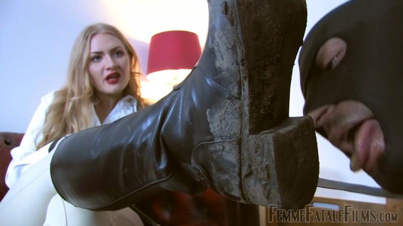 Dommelia's Dirt Slave – Goddess Dommelia. 13 Nov 2019. Femmefatalefilms.com (519 Mb)