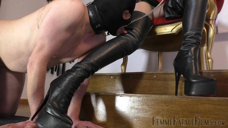 My Lucky Leather Boot Licker - Mistress Heather. 27 Jan 2020. Femmefatalefilms.com (547 Mb)
