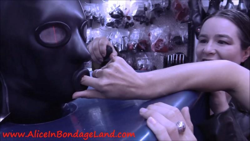 Strange Hobbies In Germany - Rubber Hood Initiation Threesome. Jul 29 2019. Aliceinbondageland.com (1129 Mb)