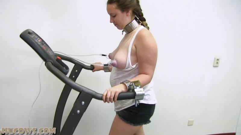 Vina on the treadmill (hu234). Jun 22 2019. HuCows.com (867 Mb)