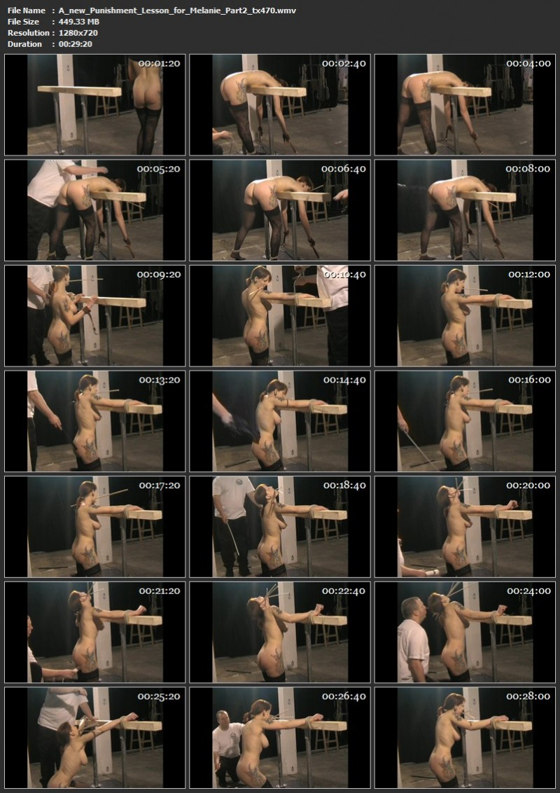 A new Punishment Lesson for Melanie Part 2 (tx470). Dec 31 2019. Toaxxx.com (449 Mb)