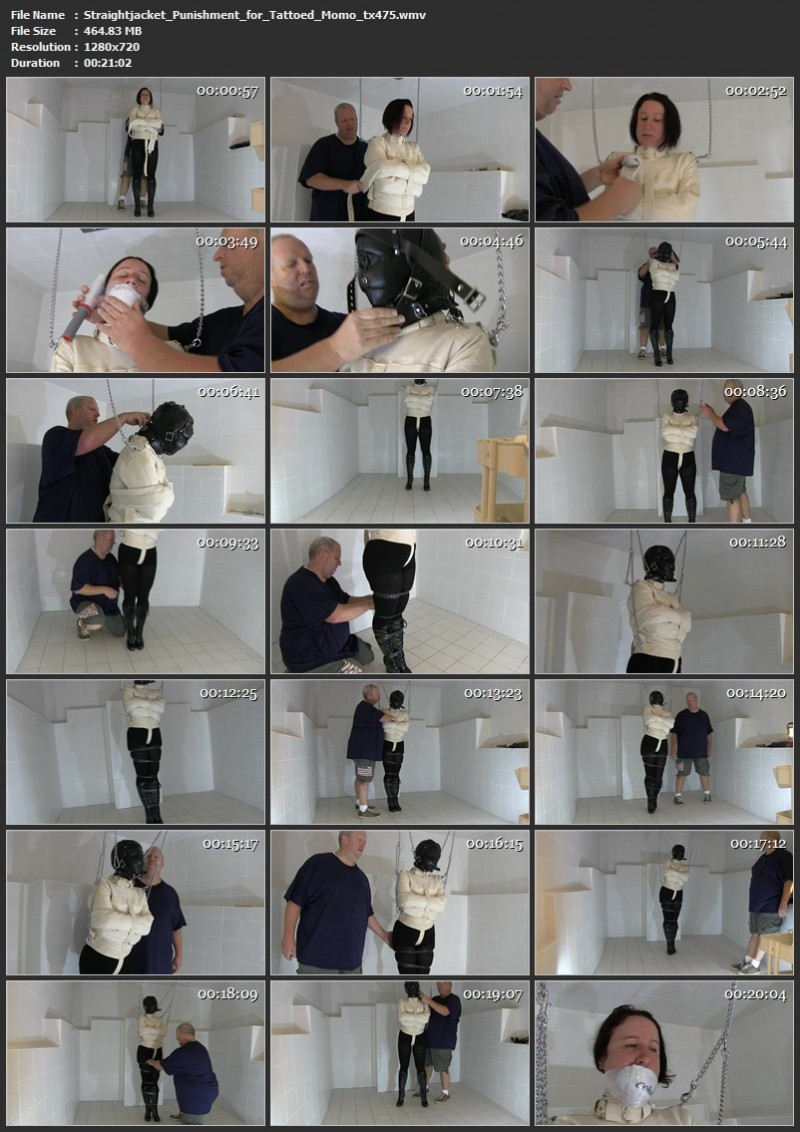 Straightjacket Punishment for Tattoed Momo (tx475). Feb 04 2020. Toaxxx.com (464 Mb)