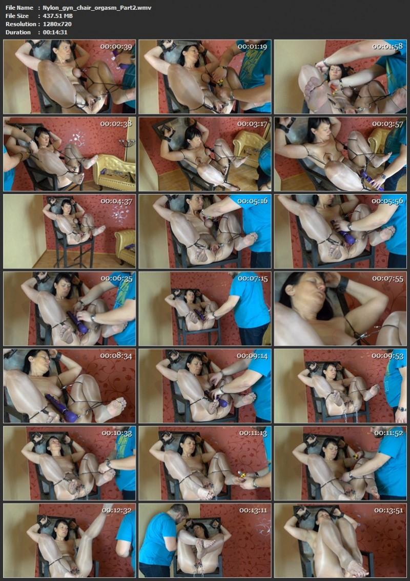Nylon, gyn chair, orgasm. Yvette-Xtreme.com (962 Mb)