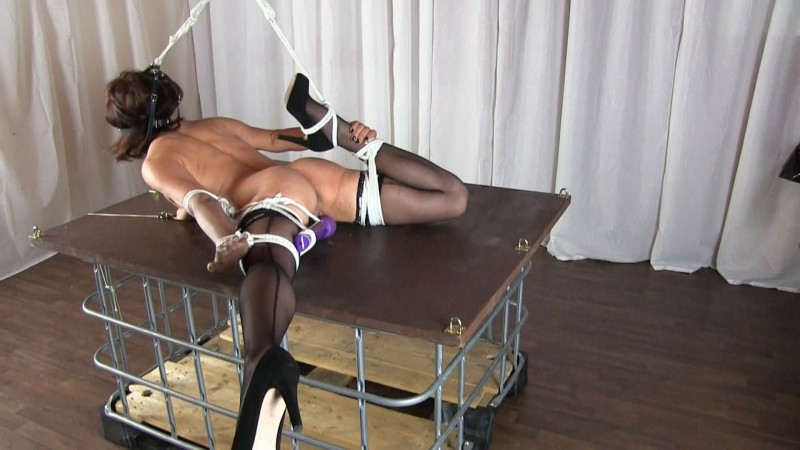 Lisanne on the bondage table. 2019-06-26. Studio-Costeau.com (783 Mb)