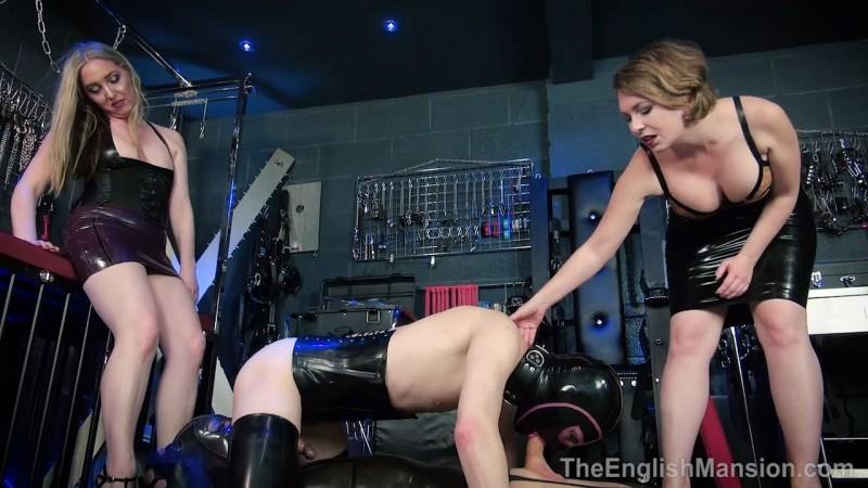 Horny Rubber Dolls - Mistress Sidonia & Mistress T. Theenglishmansion.com (700 Mb)