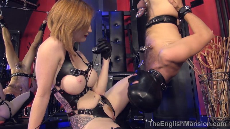 Inverted Tongue Slave - Miss Zara DuRose. Theenglishmansion.com (475 Mb)