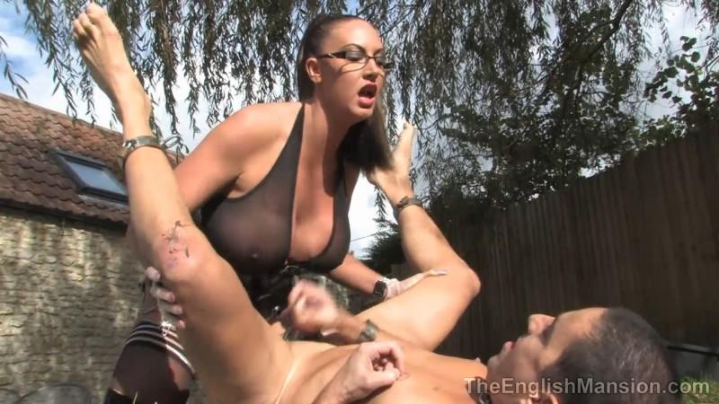 Slave Ordeal - Mistress Pandora. Theenglishmansion.com (711 Mb)
