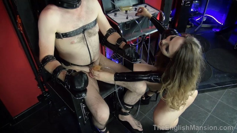 Tormented In The Chair - Goddess Serena. Theenglishmansion.com (379 Mb)