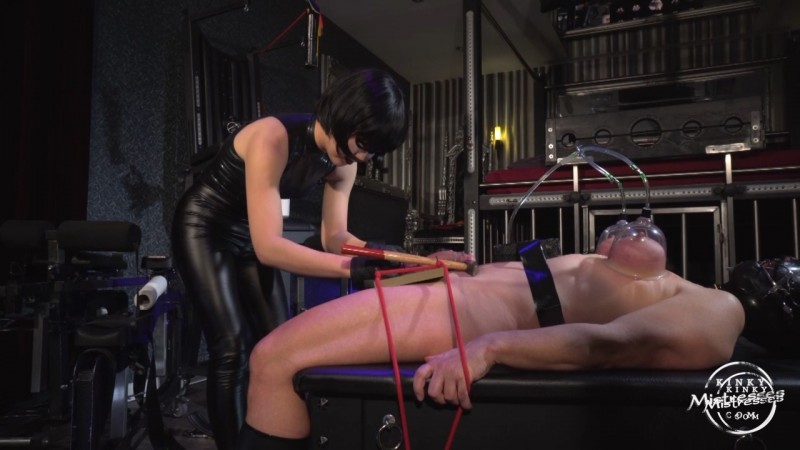 Miss Opium's CBT Slave. Kinkymistresses.com (258 Mb)