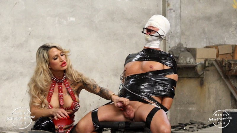 Punished In The Old Factory By Calea Toxic. Kinkymistresses.com (581 Mb)