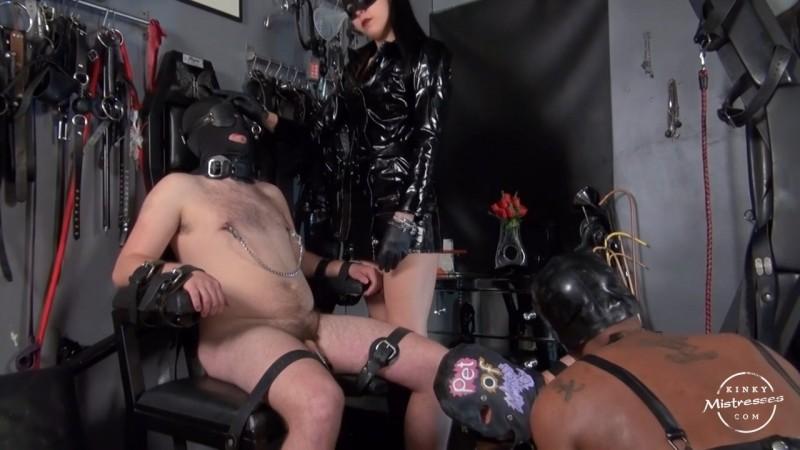 Belladonna´s & Gaia´s slave slut - Mistress Gaia, Mistress Belladonna Night. Kinkymistresses.com (300 Mb)