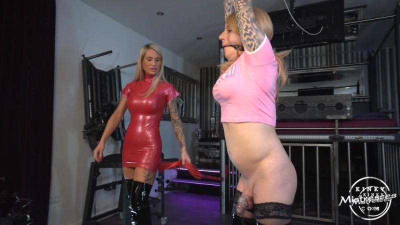Caleas Punished Sissy Slut - Calea Toxic. Kinkymistresses.com (297 Mb)