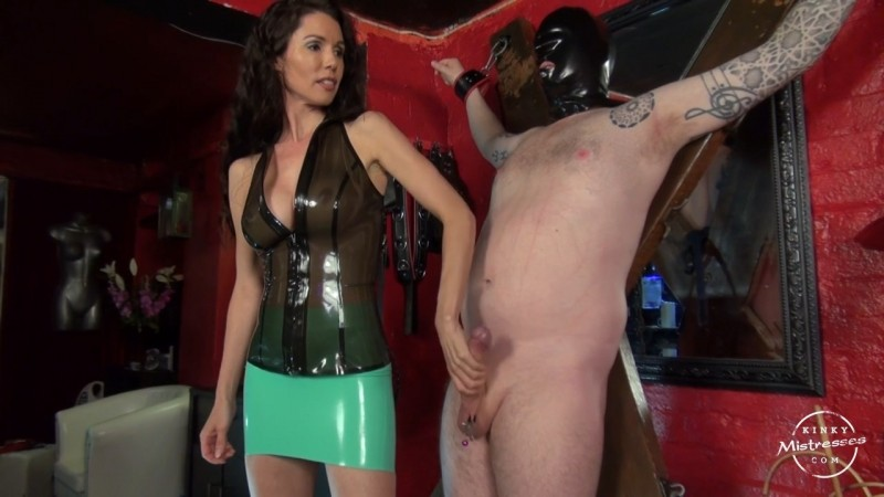 Mistress Susi´s London Slave. Kinkymistresses.com (233 Mb)