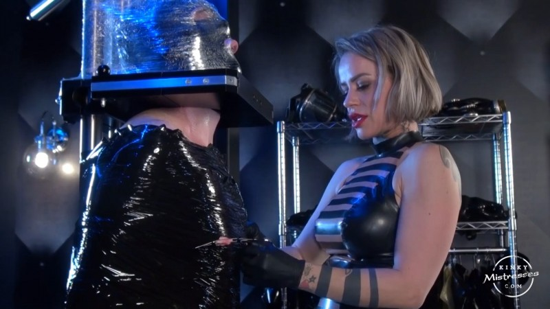 My Punished Slave - Nicole Banshee. Kinkymistresses.com (684 Mb)