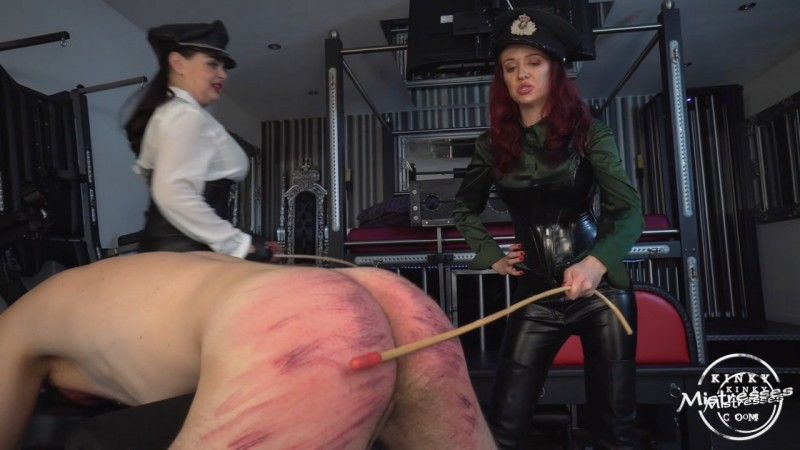 The Caning Slut - Dominatrix Dinah, Lady Fatale. Kinkymistresses.com (390 Mb)
