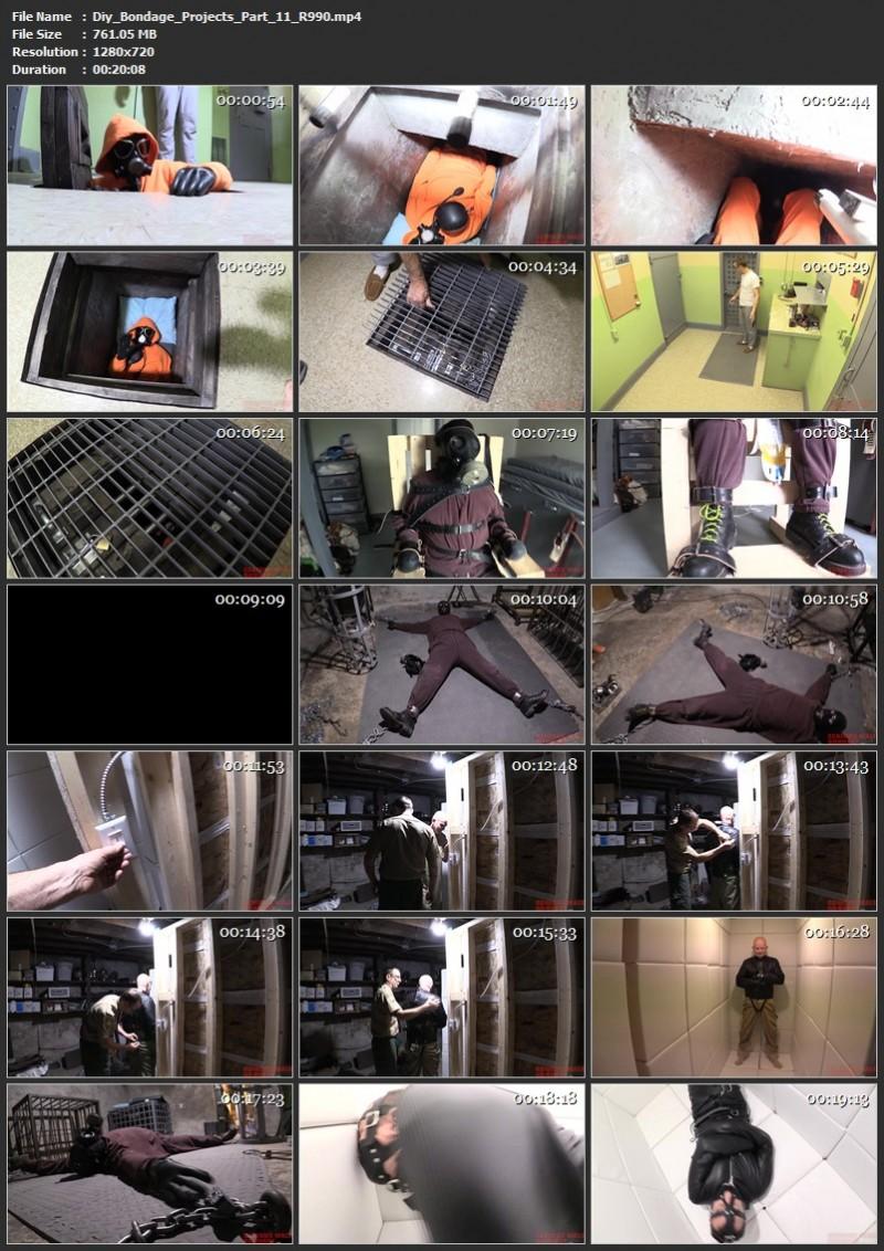 Diy Bondage Projects Part 10, 11 (R990). Aug 28 2020. Seriousmalebondage.com (1585 Mb)