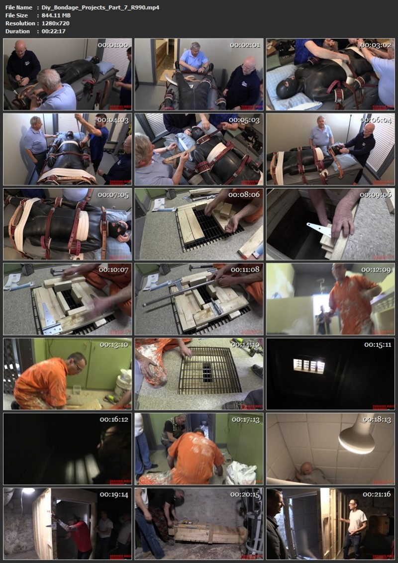 Diy Bondage Projects Part 6, 7 (R990). Jun 21 2020. Seriousmalebondage.com (1634 Mb)
