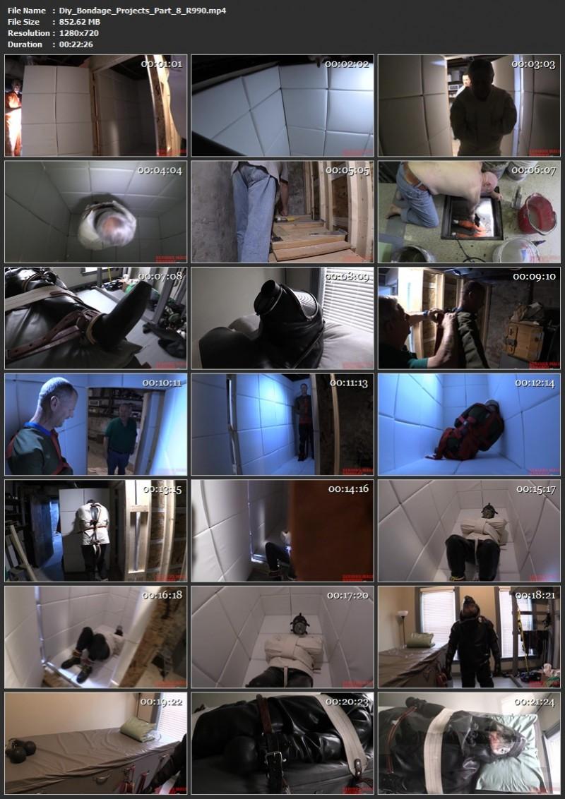 Diy Bondage Projects Part 8, 9 (R990). Jul 07 2020. Seriousmalebondage.com (1600 Mb)