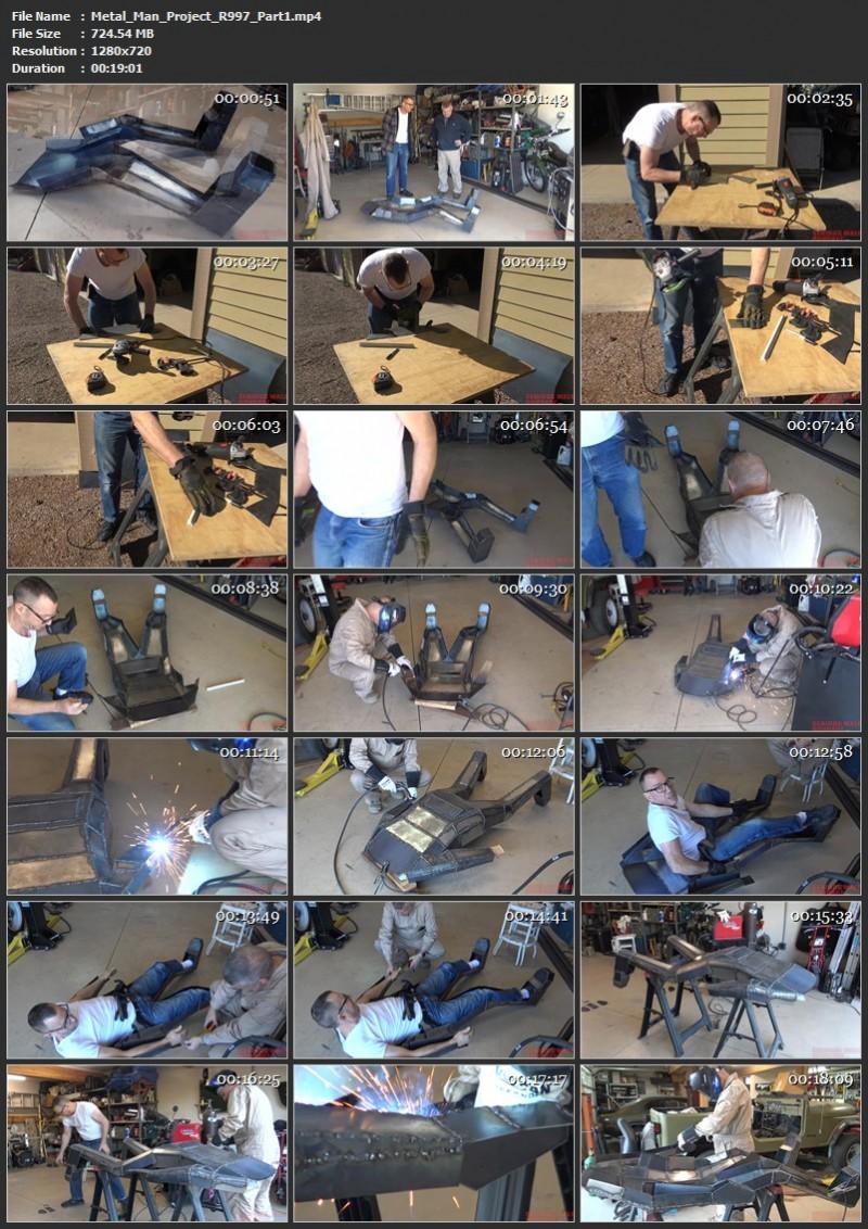 Metal Man Project (R997). Aug 09 2020. Seriousmalebondage.com (1627 Mb)