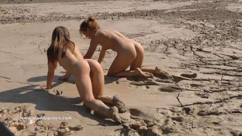 Naked Muddygirlies - the two pretty girls meet in the mud. 29 Jun 2018. Muddygirlies.com (542 Mb)