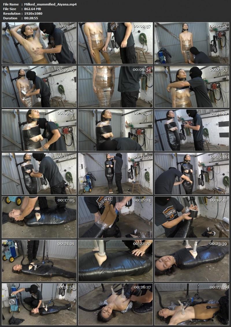 Milked mummified - Aiyana. 2020-07-31. Amateure-Xtreme.com (862 Mb)