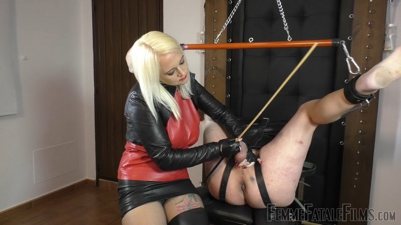 Ballstinado - Mistress Heather. 15th May 2020. Femmefatalefilms.com (653 Mb)