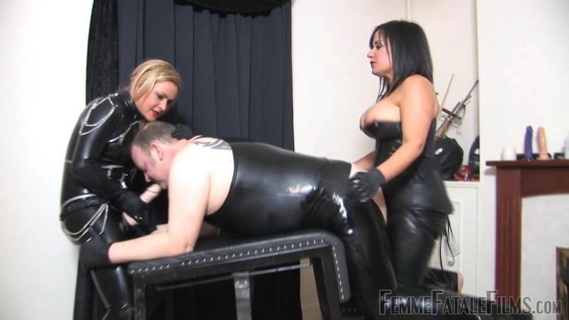 Dirty Fuck Slut Slave - Mistress Athena, Mistress R'eal. 13th May 2020. Femmefatalefilms.com (544 Mb)