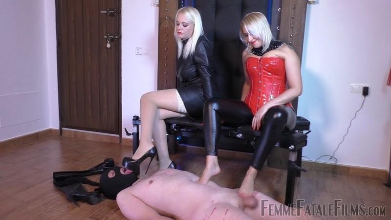 Foot Gift - Mistress Heather, Mistress Johanna. 19th Mar 2020. Femmefatalefilms.com (545 Mb)