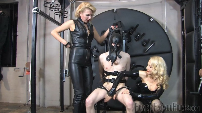 Thirsty for Spit - Mistress Akella, Mistress Eleise de Lacy. 30th Aug 2020. Femmefatalefilms.com (509 Mb)