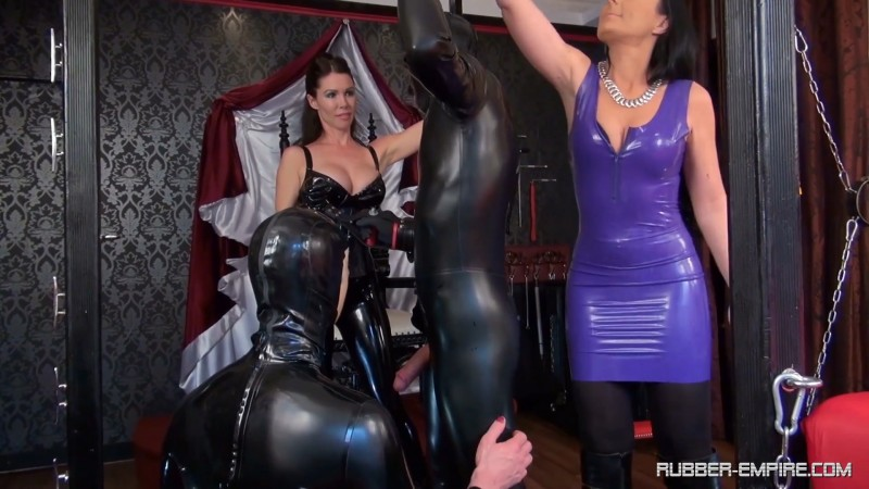 Your mistress commands Suck cock - Lady Luciana and Mistress Susi. 2019-11-15. Rubber-empire.com (532 Mb)