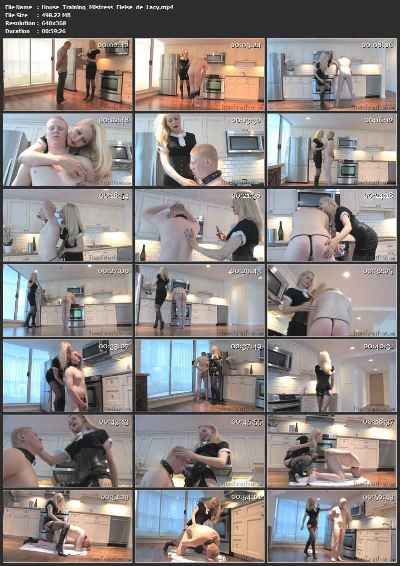 House Training - Mistress Eleise de Lacy. 18th Nov 2020. Femmefatalefilms.com (953 Mb)