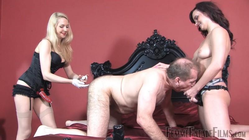 Strap-on Training - Miss Steel, Mistress Eleise de Lacy. 31st Oct 2020. Femmefatalefilms.com (864 Mb)