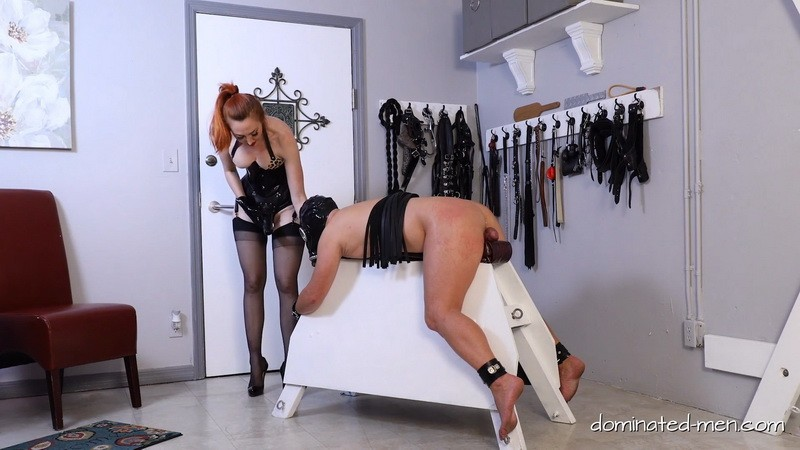 First whipped, then also still ass fucked - Kendra James. 2020-11-02. Dominated-men.com (194 Mb)