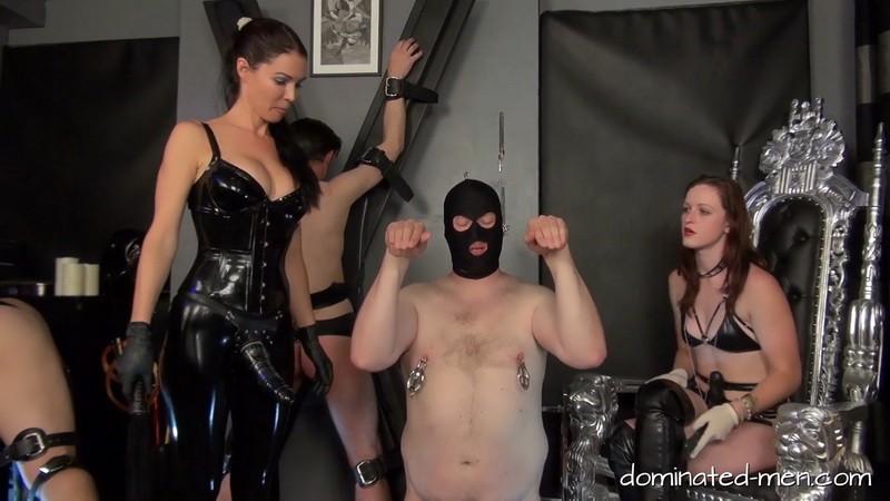 Men In Distress Part 1 - Mistress Susi and Vivienne la Mour. 2020-02-21. Dominated-men.com (460 Mb)