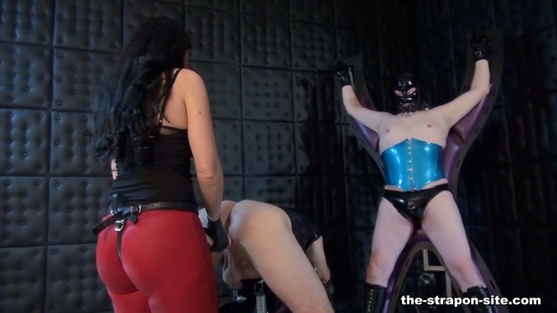 Your ass is next - Mistress Luciana di Domizio. 2018-11-09. Dominated-men.com (121 Mb)
