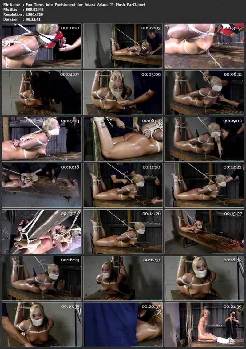 Fun Turns into Punishment for Adara - Adara, JJ Plush. 02/19/2021. Futilestruggles.com (1423 Mb)