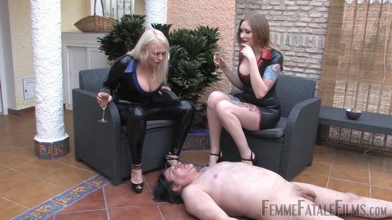 Slave Sustenance - Mistress Heather, Domina Hades. 23rd Feb 2021. Femmefatalefilms.com (706 Mb)