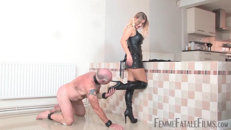 Thrashed & Trampled - Mistress Vixen. 19th Jan 2021. Femmefatalefilms.com (761 Mb)