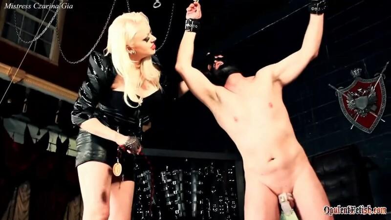 Blonde Ambition - Mistress Czarina Gia. OpulentFetish.com (724 Mb)