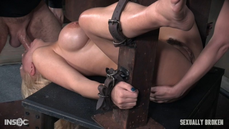 Kenzie Taylor is bound, pussy smothered, ass smothered, deepthroated and fucked to orgasms Part 2. 12.05.2017. SexuallyBroken.com (600 Mb)