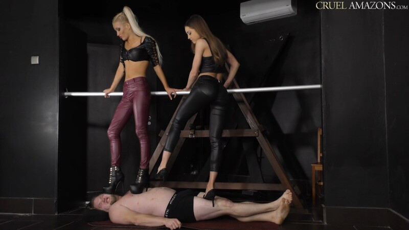 Lucy And Ariel Makes It Worse For The Slave - Mistress Lucy & Mistress Ariel. 17.02.2020. CruelAmazons.com (350 Mb)