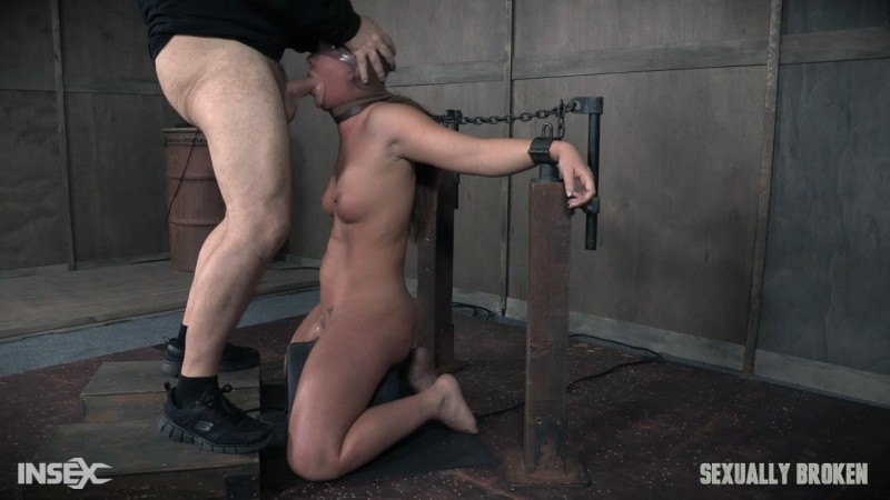 Maddy O'Reilly is sexually brutalized by cock and bondage. 10.07.2017. SexuallyBroken.com (1934 Mb)