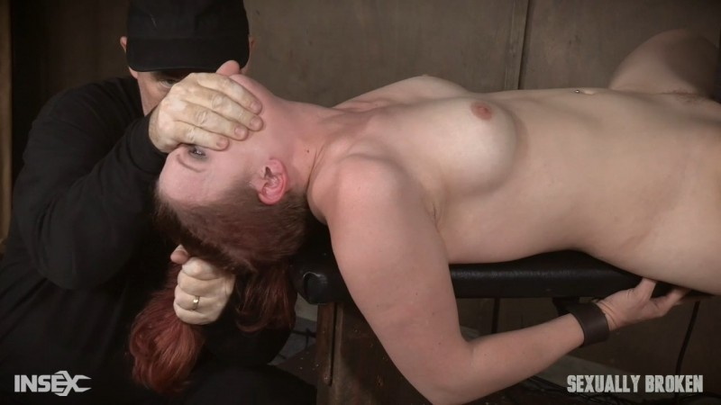 Kel Bowie is the girl next door bound, made to squirt, cum, scream, while getting fucked, throated. SexuallyBroken.com (1661 Mb)