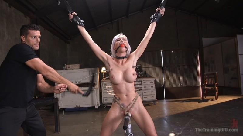 Sex Slave Astrid Star Submits to Rope Bondage and Extreme Fucking. TheTrainingOfO.com (2650 Mb)
