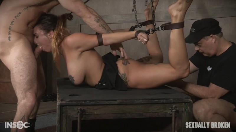 Sexy Girl Next Door has her first Bondage and rough sex experience - Scarlet Sade. SexuallyBroken.com (1624 Mb)