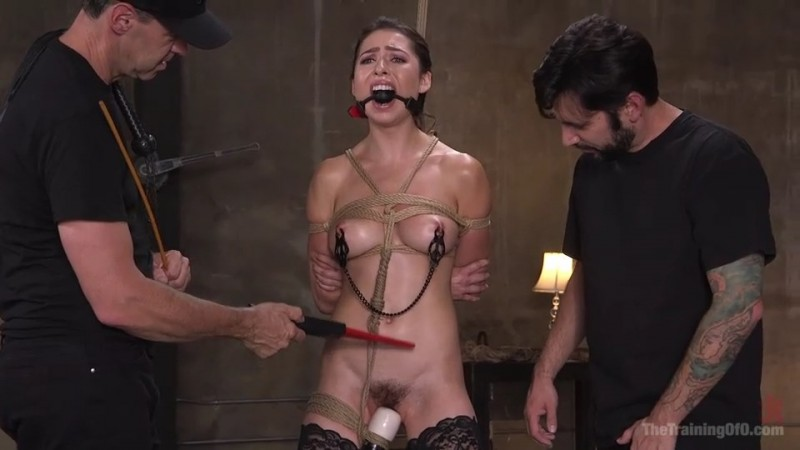Training a Pain Slut Busty Melissa Moore's First Submission. TheTrainingOfO.com (690 Mb)